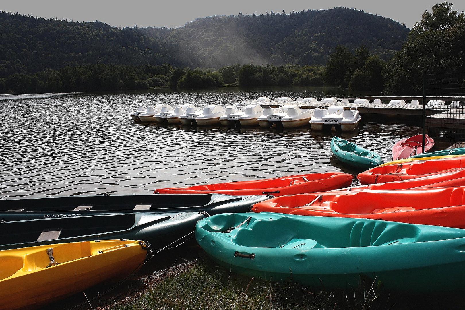 Le lac Chambon Auvergne