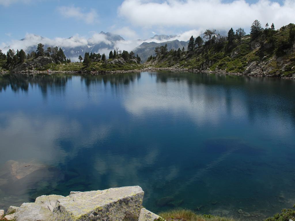 Le lac d'Aumar-Parc de Néouvielle