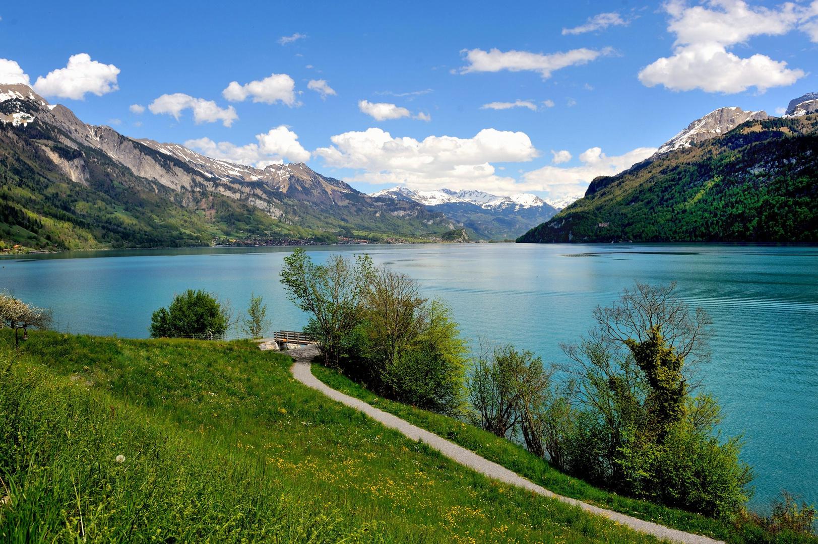 Le lac de brienz photo et image paysages lacs rivi res - Lac de brienz ...