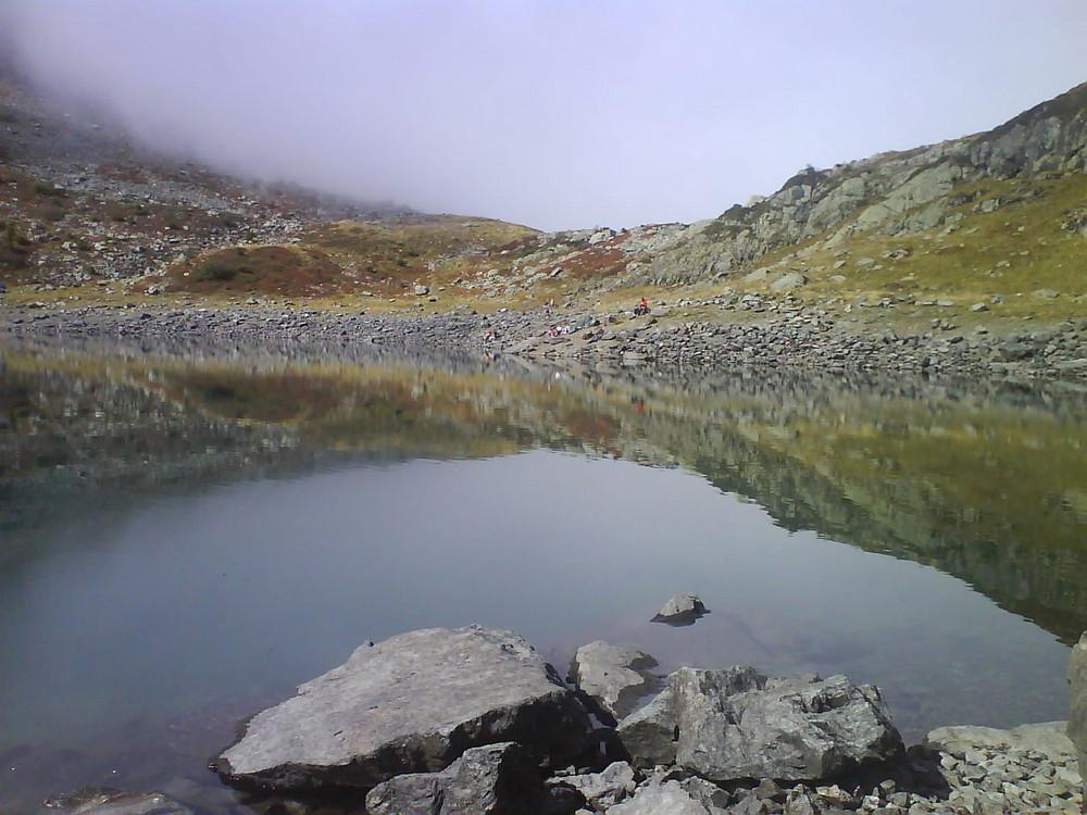 Le lac de Crop - Belledonne