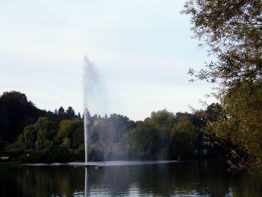 Le Lac de Genval à Rixensart, Belgique.