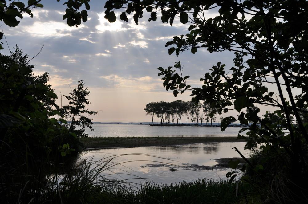 le lac de parentis-en-born