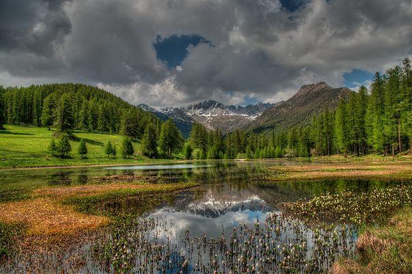 le lac de Roue