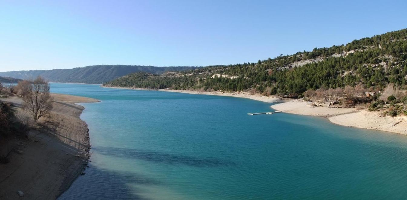 Le lac de Sainte Croix (O4)