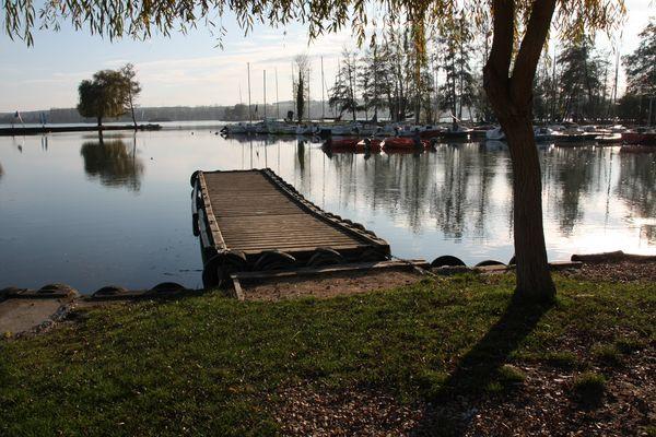 Le Lac d'Ecluzelles dans le 28