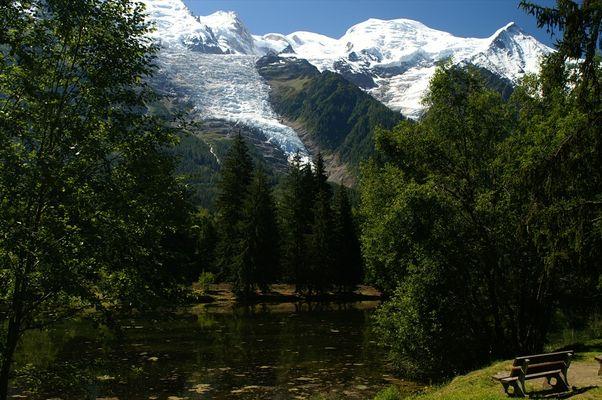 Le lac des Gaillands, Chamonix