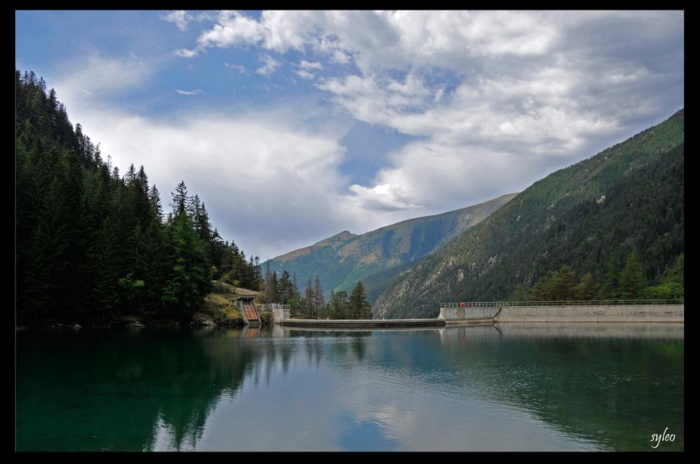 le lac du boreon