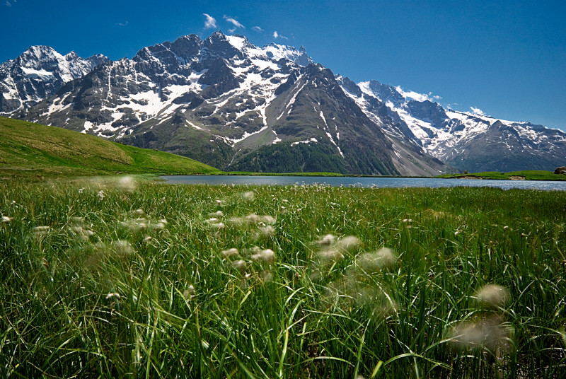 le lac du Pontet (Hautes-Alpes)