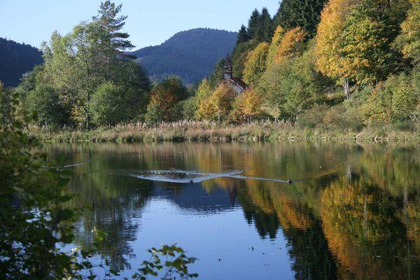 Le lac du Rudlin