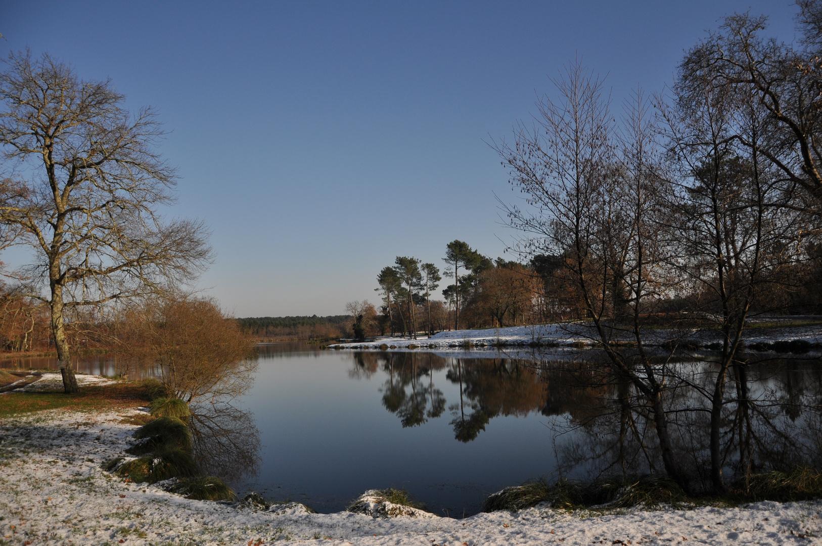 le lac d'ychoux