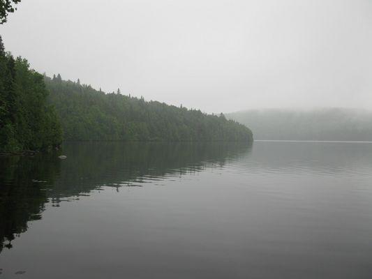 Le lac Evelyne