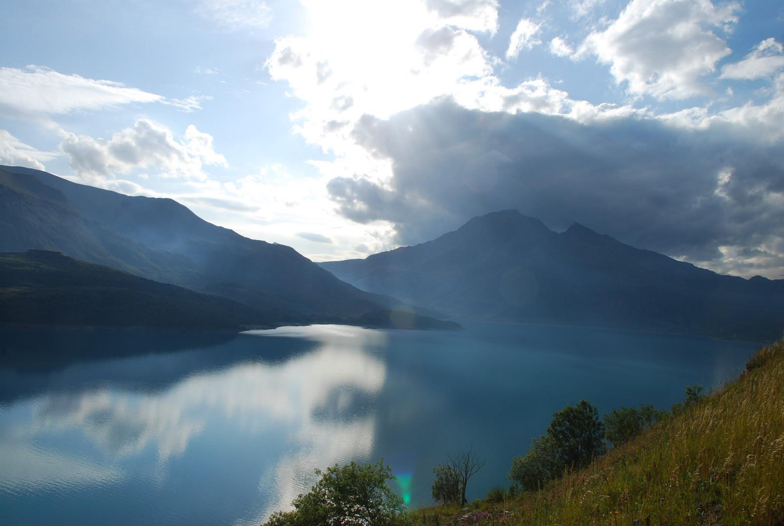 Le lac Mont Cenis