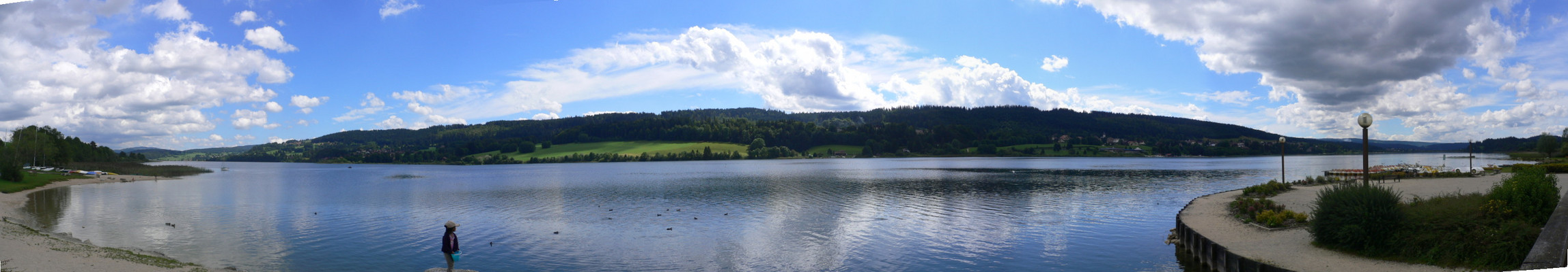 Le lac St point