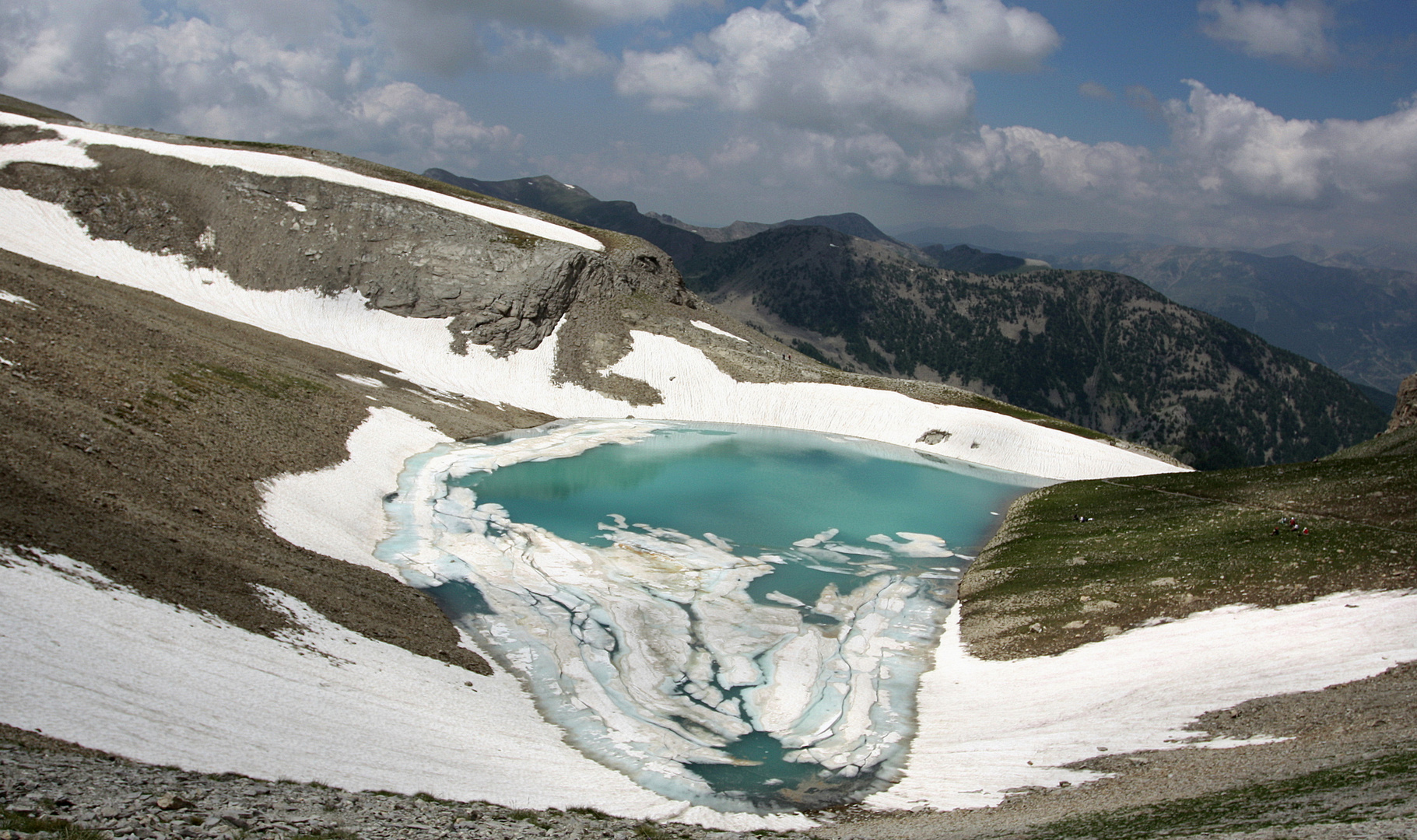 Le lac turquoise (2)