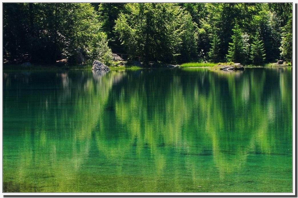 le lac VERT !!!