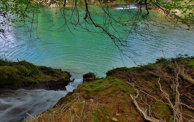 """""""le lagon vert en Isère"""""""