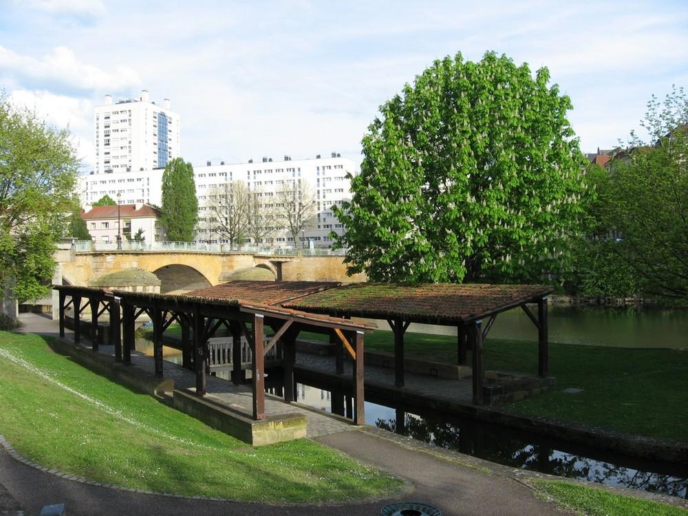 Le lavoir à Metz