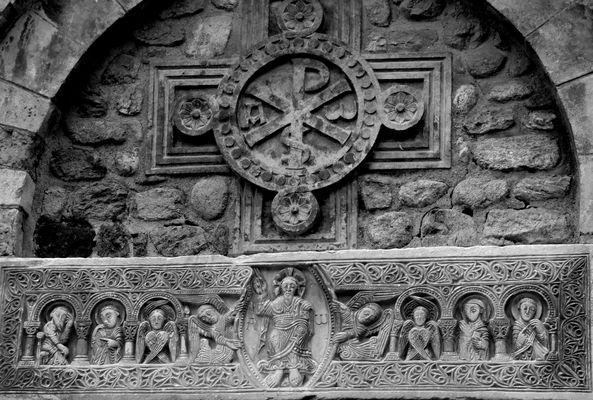 le linteau de Saint André de Sorède