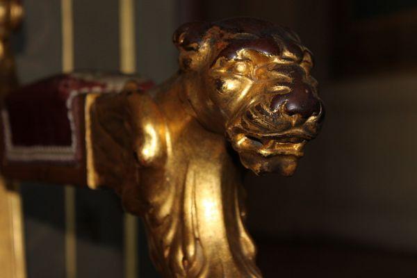Le lion du président !