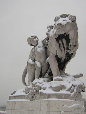 Le lion et l'enfant
