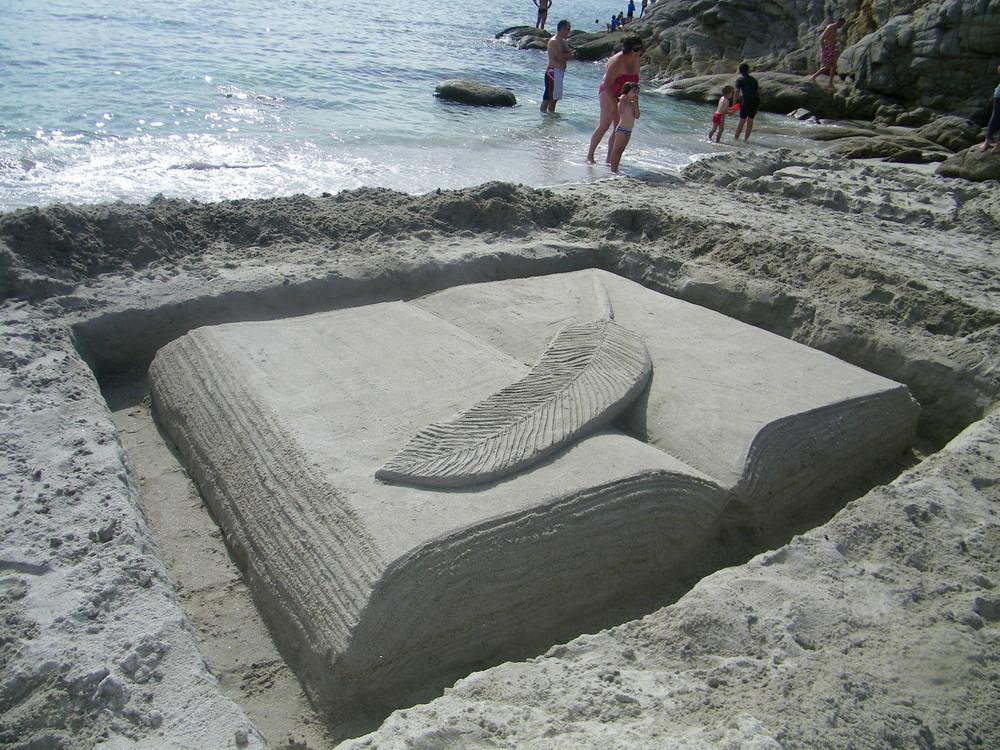 Le livre de sable juillet 2010