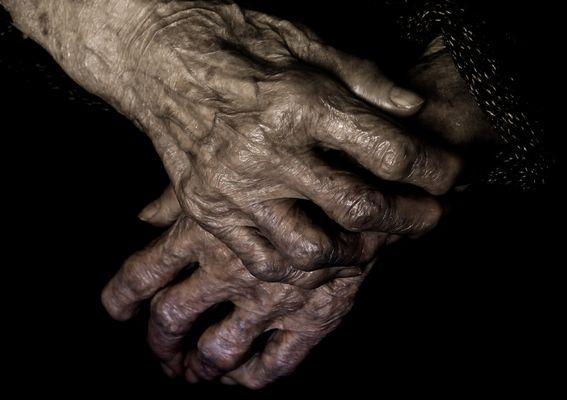 Le mani...........