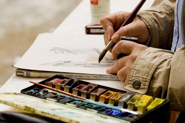 Le mani del pittore