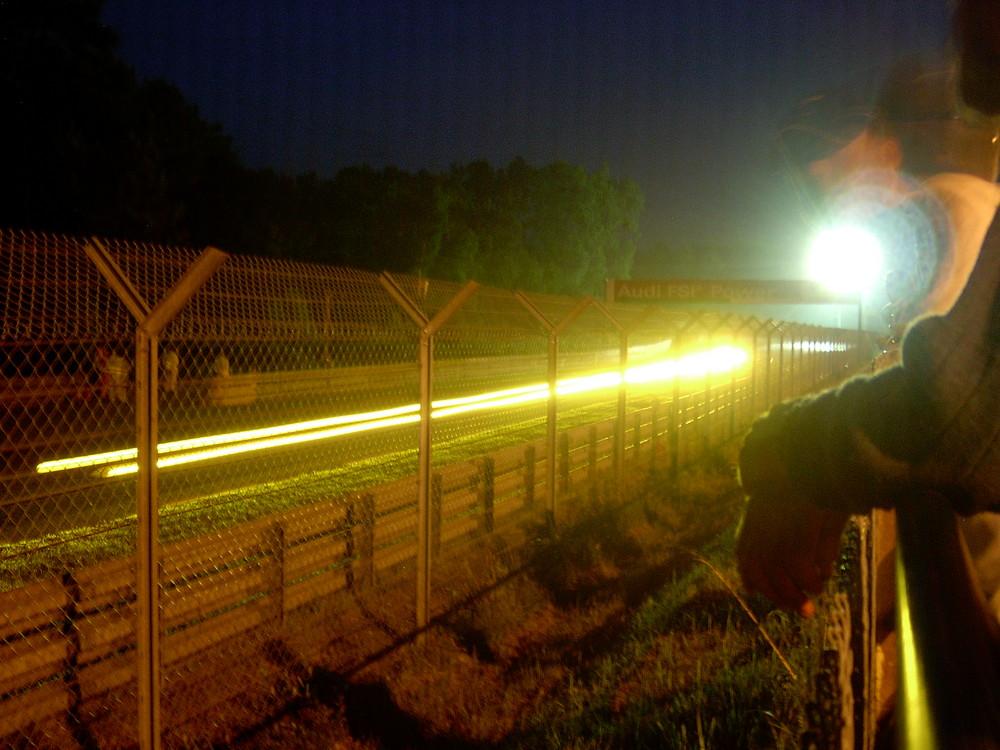 Le Mans 2003 - Nachtimpression Arnage