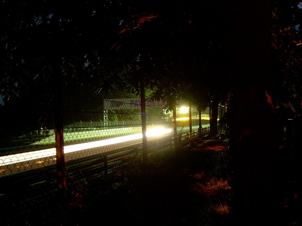 Le Mans 2003 - Nachtimpression Les Esses / Tetre Rouge