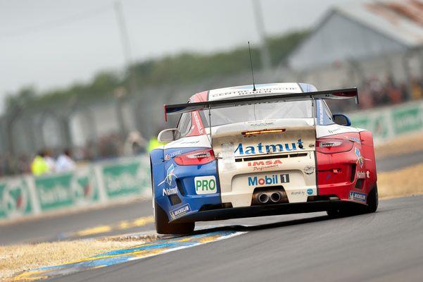 Le Mans 2011 - IMSA Performance Matmut - Porsche 911 GT3 RSR