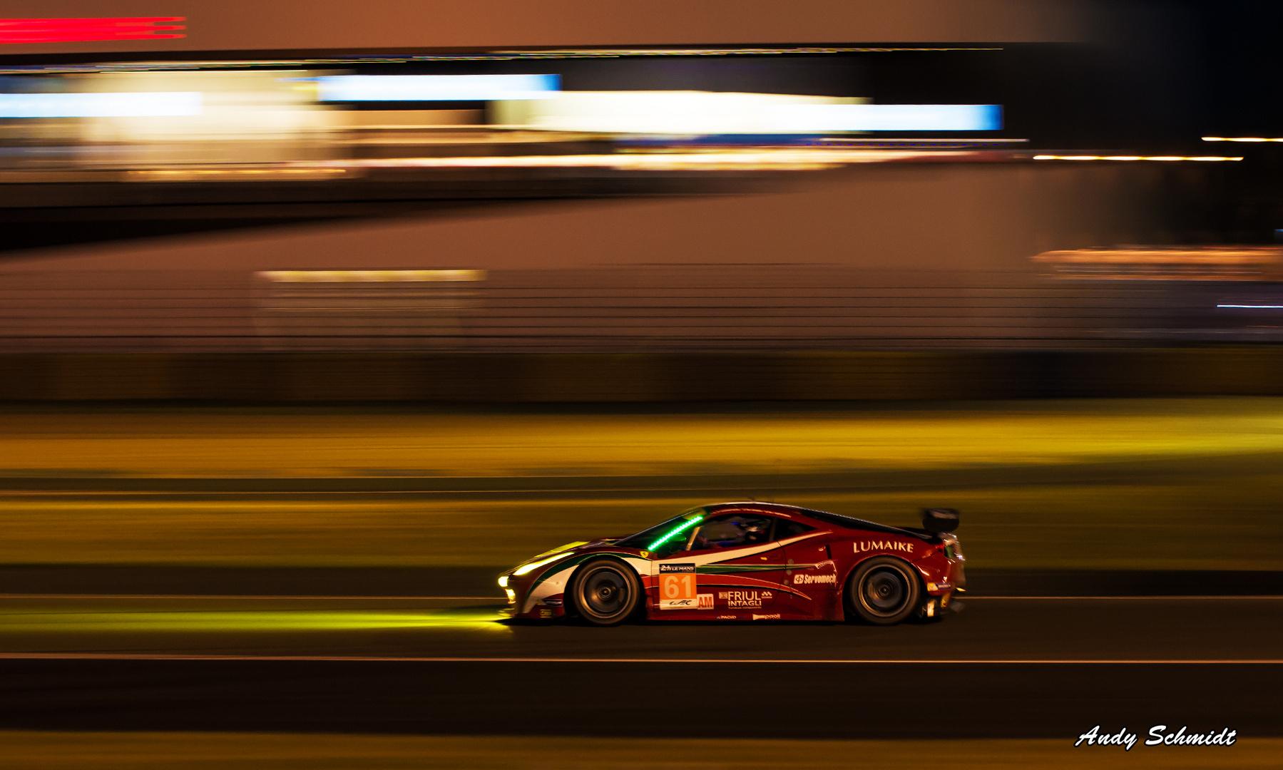 Le Mans 2014 bei Nacht