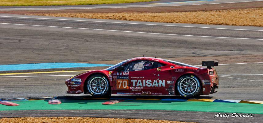 Le Mans 2014 die Ferrari sind lautttttttt :-)