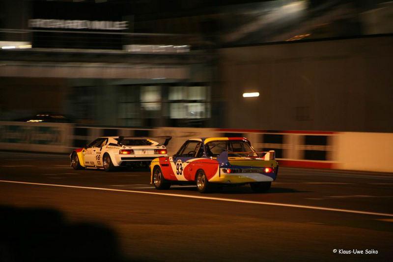 Le Mans Classic 2006 bei Nacht