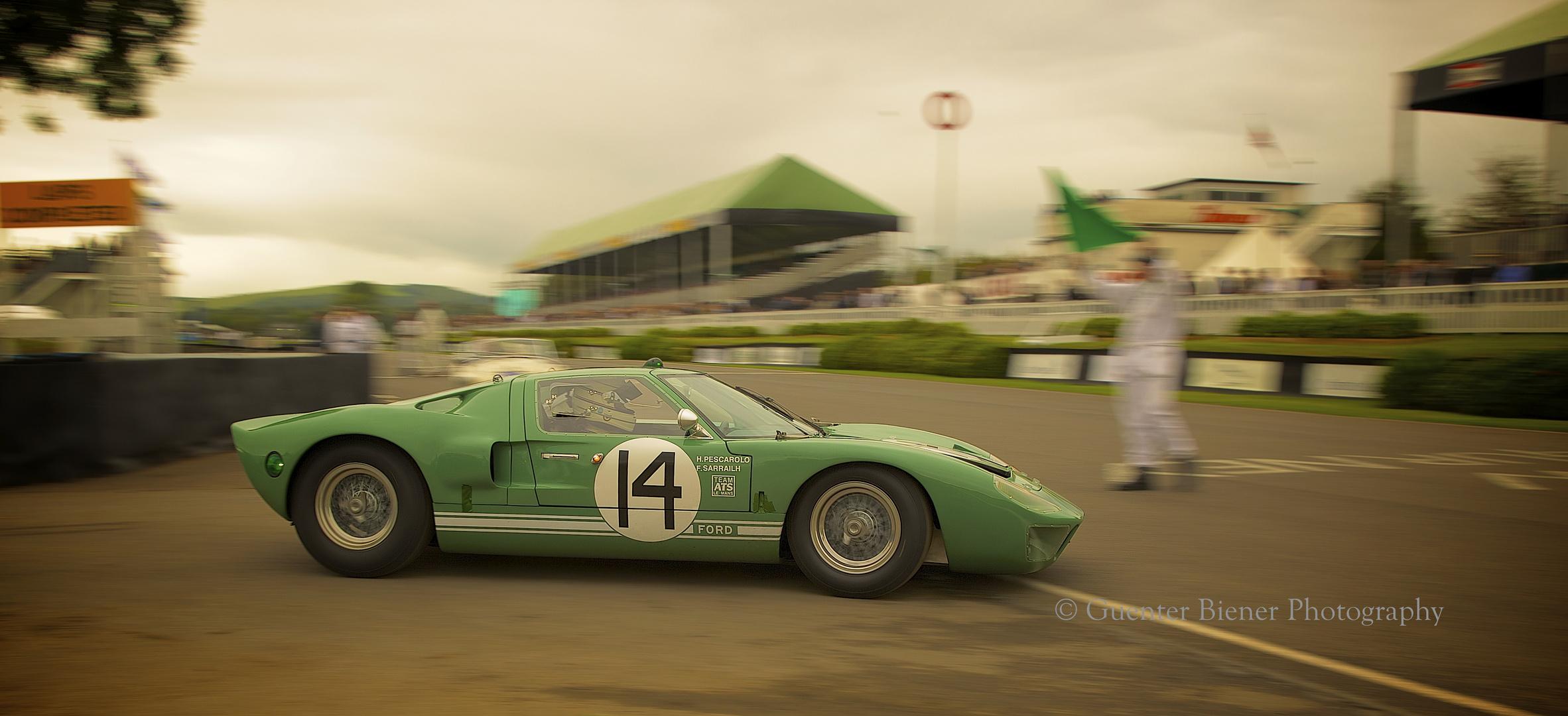 Le Mans Legend Henry Pescarolo......