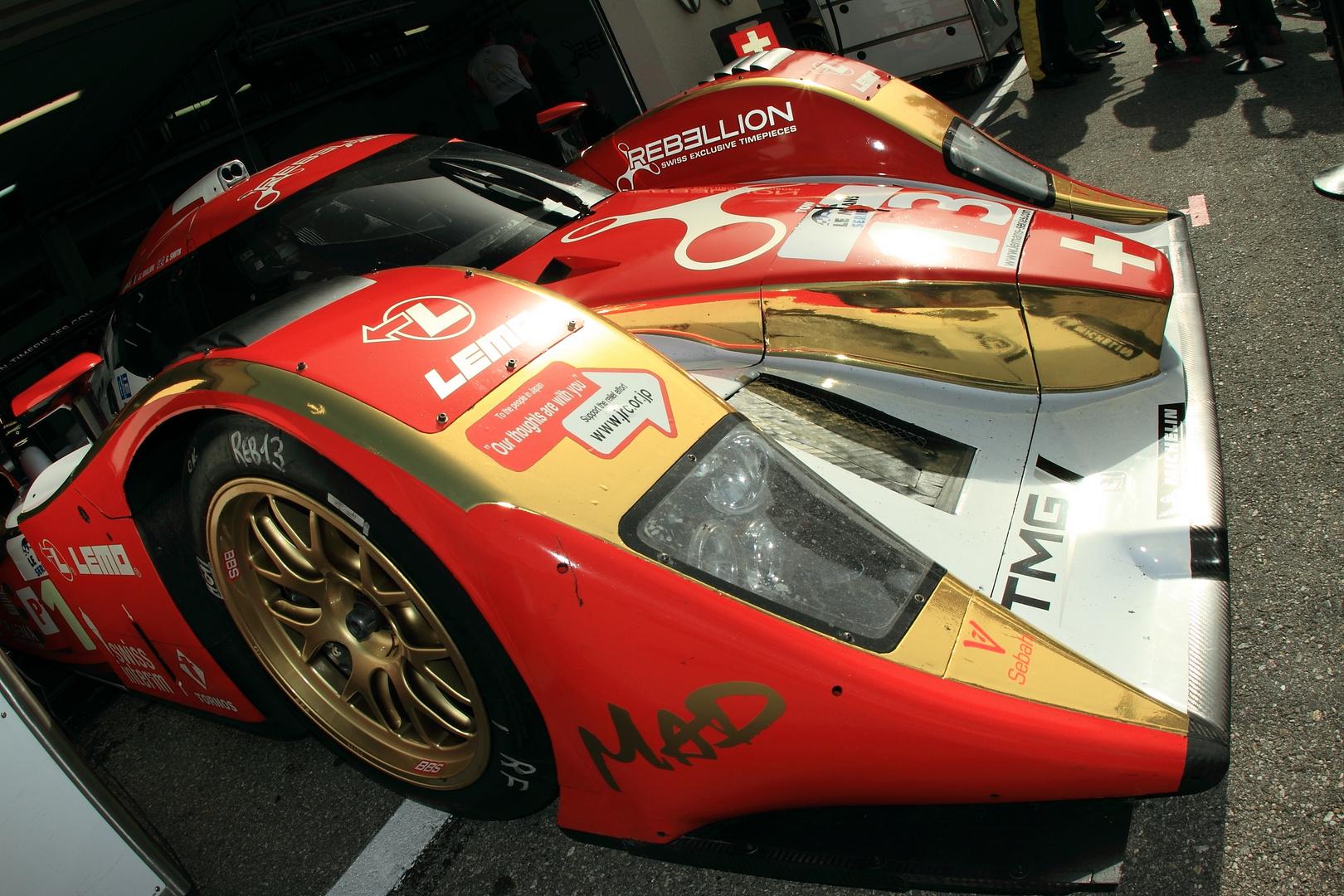 Le Mans Series Padock 2