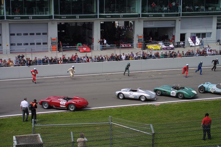 Le Mans Start am Nürburgring