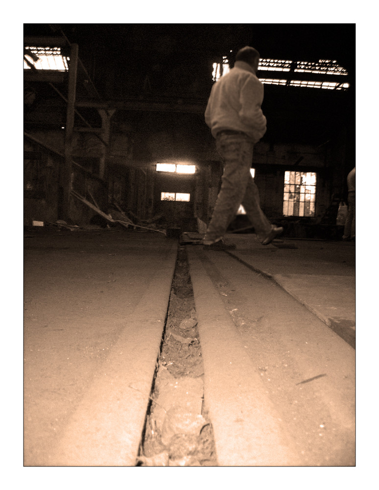 le marcheur des ruines