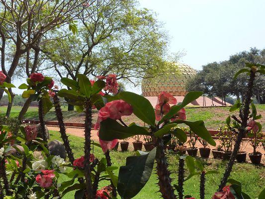 Le Matrimandir à Auroville