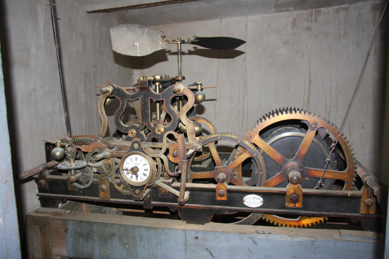 le mécanisme du temps