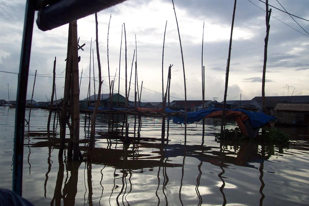 le mekong à chaudoc (vietnam)