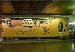 Le Metro de Lisbonne.