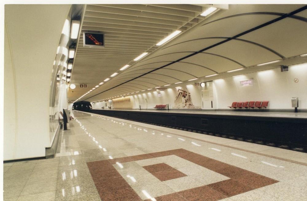 Le métro propre? oui ca existe ... à Athènes