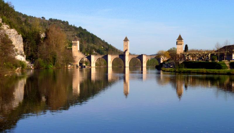 Le même pont Valentré .