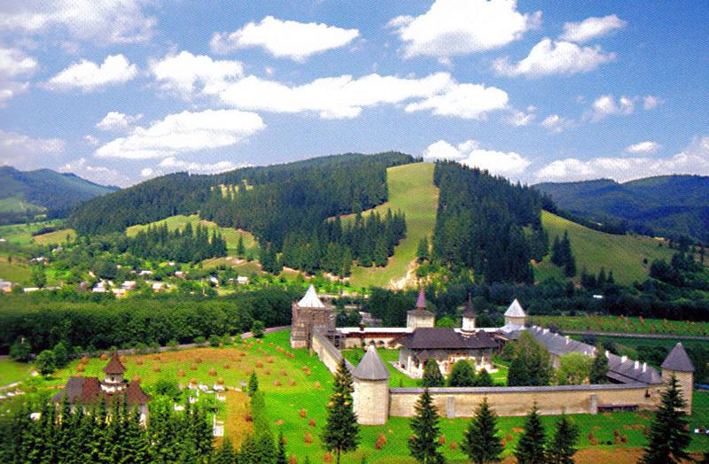 Le monastère de Sucevita