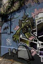 Le monstre vert