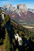 Le mont aiguille et le grand veymont