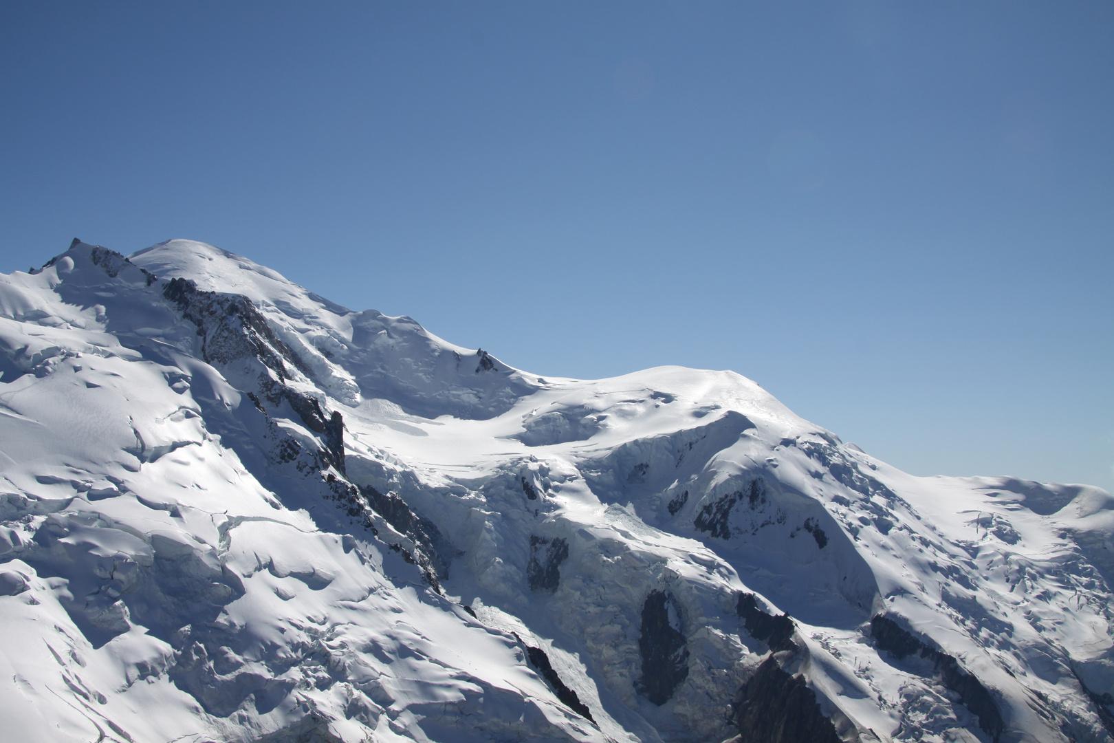 le mont blanc dans toute sa splendeur