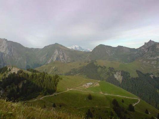 Le Mont Blanc ne semble pourtant plus si loin...