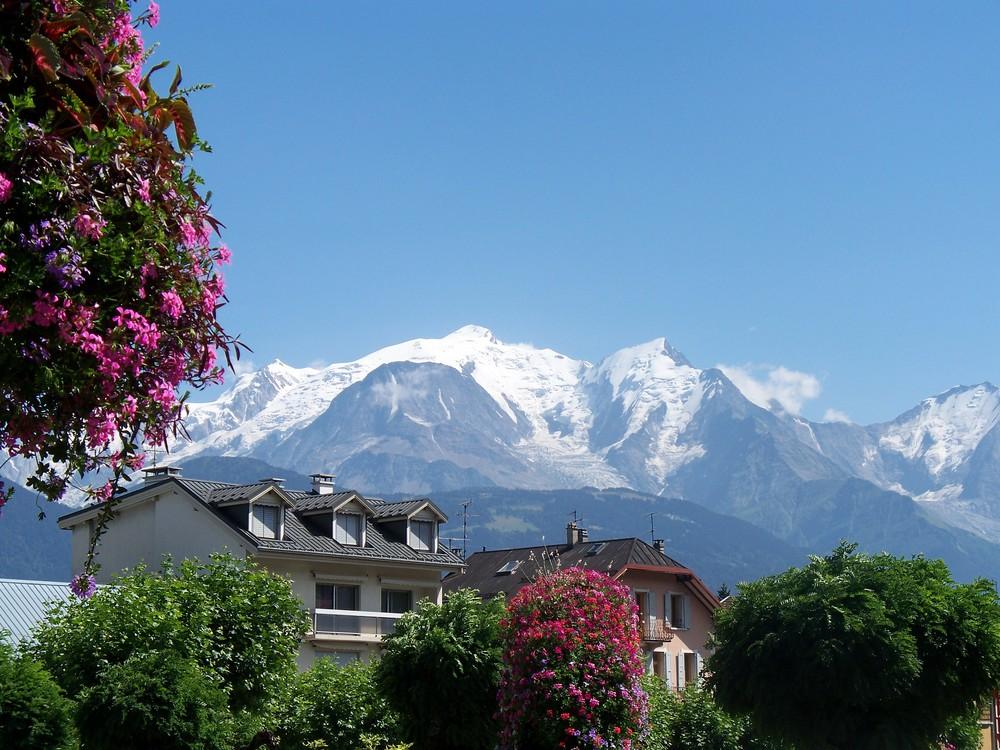 Le Mont-Blanc pris de Sallanche!