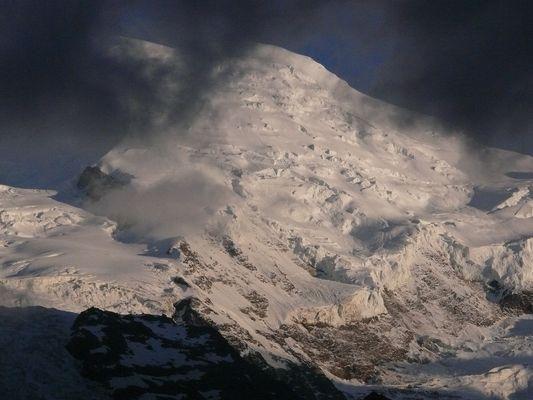 Le Mont-Blanc se dévoile